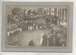 CPA - (67) BRUMATH - Carte-Photo Du Jour De La Fête Religieuse Pour L'entrée De Monseigneur Rector En 1923 - Brumath