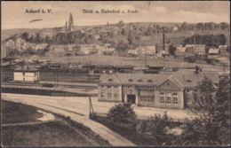 AK Adorf I.V. Bahnhof Und Stadt, Gelaufen 1922 - Allemagne