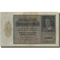 Billet, Allemagne, 10,000 Mark, 1922, KM:70, TB+ - 1918-1933: Weimarer Republik