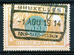 """TR 33 - """"BRUXELLES - TOUR-TAXIS-POSTAUX"""" - (ref. 31.068) - Chemins De Fer"""