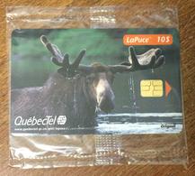 ORIGNAL QUÉBECTEL PHONECARD NEUVE CARD 10 $ QUEBEC CARTE TÉLÉPHONIQUE LAPUCE PUBLIQUE - Canada