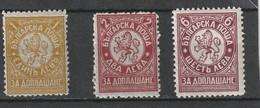 1932 MNH  Sc.J37-39 Yv.Taxe 34-36, Mi. Porto 29-31                   160 - Segnatasse