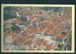1990/91 Pocket Calendar Calandrier Calendario Portugal Lugares Cidades Câmara Municipal Setúbal - Calendriers