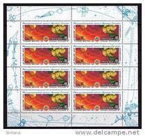 Sowjetunion/Russia 1985 Mi. 5513 KB Weltraum Venus-Halley/Sc.5372a M/S Space **/MNH - 1923-1991 UdSSR