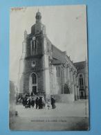ROCHEFORT Sur LOIRE  (Maine & Loire) -- Eglise - BELLE ANIMATION - Francia