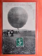 """CPA Rare. (55) Commercy. Le Ballon  """"Le Vin""""  MOnté Par MM Grosdidier Et Morelle. 14 Juillet  (N.1013) - Commercy"""