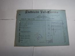 ISOLA DEL CANTONE  -GENOVA  -- CENTRALE ELETTRICA  -- DISTRIBUZIONE ---   ELETTRICITA' VALLE SCRIVIA - Italia
