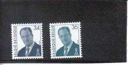 2690/2691 KONING ALBERT II POSTFRIS** 1997 - Unused Stamps