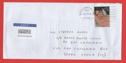 STORIA POSTALE 09.03.2020: 100º Anniversario Della Morte Di Amedeo Modigliani , Isolato Su Busta (165) - 1946-.. République