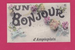 69 - AMPLEPUIS - Un Bonjour D'AMPLEPLUIS (carte Fautée) - Amplepuis