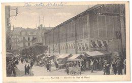 AFRIQUE DU NORD ALGERIE ALGER BAB EL OUED : MARCHE DE BAB EL OUED - MARCHAND DE GLACES AMBULANT GLACIER - Alger