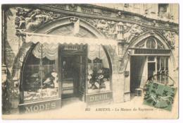 163 Amiens - La Maison Du Sagittaire - Modes - Deuil - Tavernier - 1924 - Mme ROUILLIER - 1924 - Circulé - Amiens