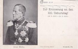 UNSER MOLTKE. ALLEMAGNE CARTE POSTALE CIRCA 1900's NON CIRCULEE. SOLD AS IS -LILHU - Uomini Politici E Militari