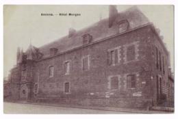 Amiens - Hôtel Morgan - 1915 - Correspondance De Guerre - Révision - Bon Pour Le Service - Mr DUMONT - Circulé - Amiens