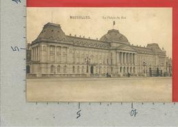 CARTOLINA NV BELGIO - BRUXELLES - Le Palais Du Roi - 9 X 14 - Monumenti, Edifici
