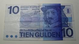 1968 - Pays Bas - Netherlands - 10 GULDEN, 25 April 1968, 9248682528 - [2] 1815-… : Royaume Des Pays-Bas