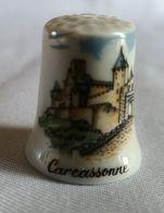 Dé à Coudre Porcelaine - Carcassonne - Vingerhoeden