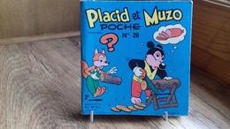 """ARNAL C.""""PLACID ET MUZO POCHE N°20."""" Jeux-gags-blagues.124 X 115mm.1968 (cag13) - Libros, Revistas, Cómics"""