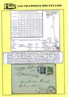 DDW/552 -- LES TRAMWAYS BRUXELLOIS - Entier Postal + TP Fine Barbe En EXPRES BXL Porte Louise 1899 - Transporté Par TRAM - 1905 Grove Baard