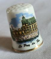 Dé à Coudre Porcelaine - Puy Du Fou (Vendée) - Dés à Coudre