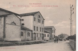 MAURY (66). Cave Coopérative Et Entrée Du Village. Les Corbières. Ecriture Rouge - Autres Communes