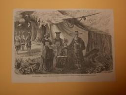 La Cochinchine. Portraits Et Costumes De L'Empereur Et De Ses Ministres. 1860. - Estampes & Gravures