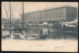 BRUXELLES  ENTREPOT   KREUKJE R.O.HOEK - Transport (sea) - Harbour