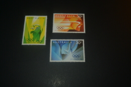 K30229 -set  MNH Australia 1984 - SC. 922-924 - Olympics Los Angeles - Zomer 1984: Los Angeles