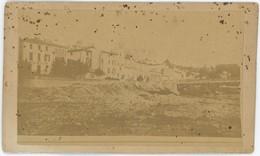 CDV Circa 1860-65. Vue De Montélimar. Drôme. Rare. - Photographs