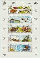 VENEZUELA - 1987 - Min.v.Transport - 10 Jaar MTC - Mi 2442.....2451 En Y&T 1314...1323 - Scott 1392a....1392j -  * - Venezuela