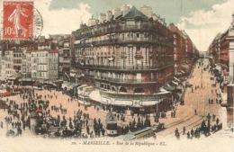 13 - MARSEILLE  - Rue De La République - Très Belle Animations..!!!!! - Autres