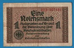 DEUTSCHES REICHS 1 Reichsmark  ND (1940-1945)# 272.907481  P# R136a - [ 4] 1933-1945 : Terzo  Reich