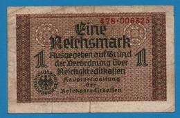 DEUTSCHES REICHS 1 Reichsmark  ND (1940-1945)# 478.006325  P# R136a - [ 4] 1933-1945 : Terzo  Reich