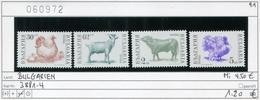 Bulgarien - Bulgaria - Bulgarie - Michel 3881-3884 - ** Mnh Neuf Postfris - - Unused Stamps