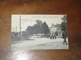 CPA / JONS Arrivée Du Tramway - Frankreich
