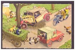 CHATS HUMANISES - PAR KUNZLI - No 4749 - TB - Otros Ilustradores
