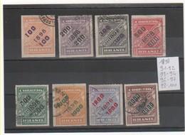 BRESIL 1898 YT N° Entre 91 Et 100 - Brésil