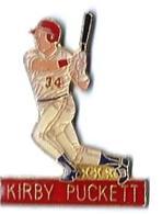 BASEBALL - B11 - KIRBY PUCKETT - Verso : SM - Baseball