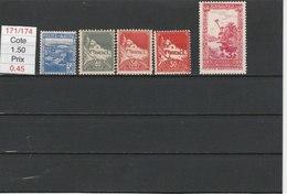ALGERIE**LUXE N° 171/174 COTE 1.50 - Algérie (1924-1962)