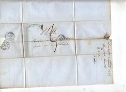 Fragment De Lettre Cachet  Dunkerque 2 Decimes  + Lille - Storia Postale