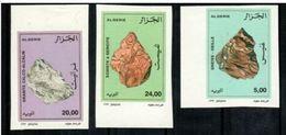 Algérie  1999 Minerals Minéraux Imperf MNH - Minéraux