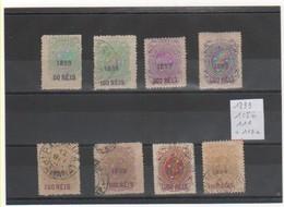 BRESIL 1899 YT N° 105 à 111+110a - Brésil