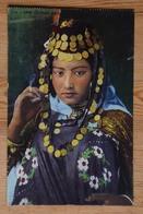 Tunisie - Une Oulede Naïl - Portrait De Femme - Colorisée - (n°17375) - Tunesië