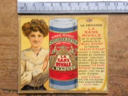 Calendrier 1910 - Chicorée La Sans Rivale - Maison Haquet à LILLE (59)Nord - Carte Département De La Saône Et Loire - Calendriers