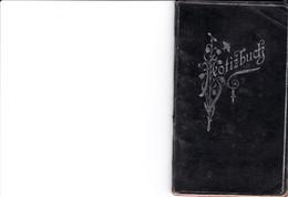 CARNET CALENDRIER ALLEMAND MOFIZBUCH POSTGREBUHREN CHRISTLICHE FESTTAGE POSTSENDUNGEN AN SOLADATE ANNE 1918 1919 8 PAGES - Allemagne