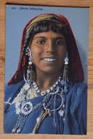 Tunisie - Jeune Bédouine - Portrait De Femme - Colorisée - (n°17376) - Tunesië