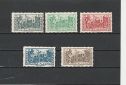 ALGERIE**LUXE N° 200/204 COTE 15.00 - Algérie (1924-1962)