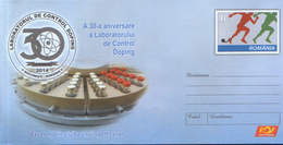 Romania - Stationery Cover Unused 2014(009) - The 30th Anniversary Of The Control Laboratory, Doping - Droga