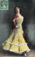 Femme 870, Artiste 1900 Robe Espagnole - Femmes