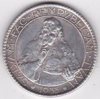 San Marino. 20 Lire 1933, En Argent, KM# 11 - Saint-Marin
